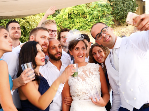 Silvia e Marcello wedding party